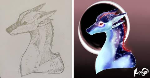 Dragonbiche+sketch by Lerya-42