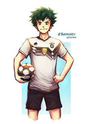 World Cup AU: Izuku by katrucci