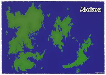 Alekea Map by Kojima2087