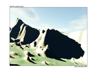 White Sand Cliff by Kojima2087
