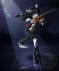 HE: Azure Melody by MetalPandora