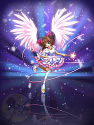 Pink wings by MetalPandora