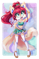 REDRAW: Vixie [SOLD] by MetalPandora