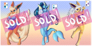 ADOPT: Classic Eeveeloutions (CLOSED) by MetalPandora