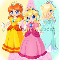 Princesses Rule by MetalPandora