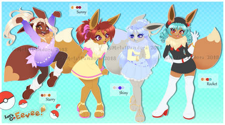 AUCTION: Eevee! (CLOSED) by MetalPandora