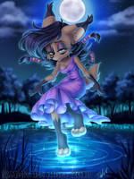 Moon's Embrace by MetalPandora
