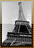 Eiffel BW stamp by DeviantSith