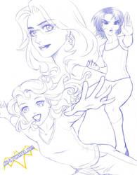 BATGIRLS: The Manga by jbramx2