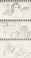 Sketches 5 by WesTalbott