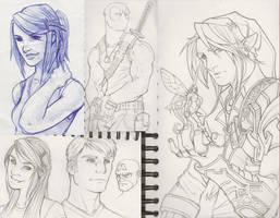 Sketches 8 by WesTalbott