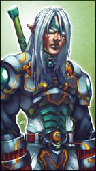 LoZ Series: Fierce Deity by WesTalbott