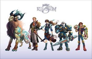 3rd Kingdom Wallpaper by WesTalbott