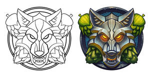 Wolf Emblem by WesTalbott