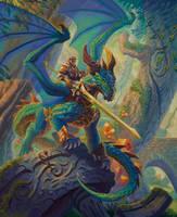 Dragon Rider by WesTalbott