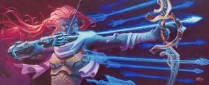 Arcane Archer by WesTalbott
