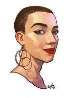 Lillie Portrait 2018 by WesTalbott