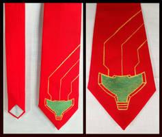 Metroid Necktie by MoltenCoeur