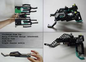 2-Barrel LEGO Compound Bow by Tshen2