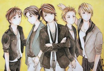 Arashi by chibi-miyuki