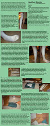 Leather Boot Tutorial by HarmonicCosplay
