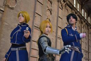 Defenders of Amestris by HarmonicCosplay