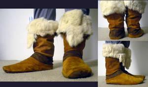 Korra Boots by HarmonicCosplay