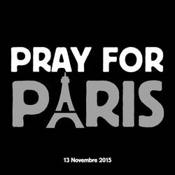 Pray for Paris by BlueShadowM