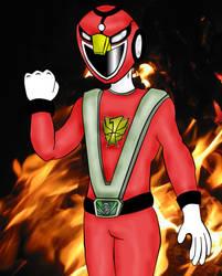 Enjin Sentai Gouoenger by JerryisKukulkan