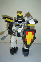 Custom Gundam Deathsythe-LEGO by JerryisKukulkan