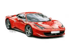 Ferrari 458 Italia by STH-pl