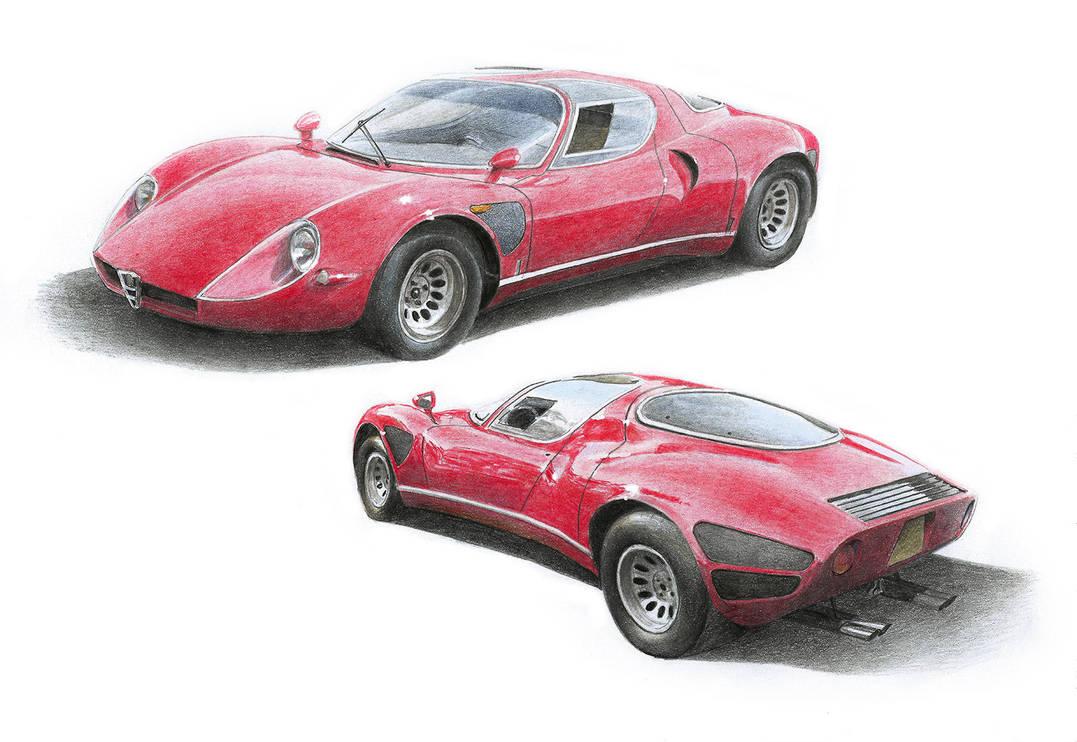 Alfa33 Alfa Romeo 33 Stradale by STH-pl