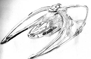 Andromeda Ascendant Sketch by RobotElf