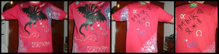 Tiamat T-Shirt by Draco-Saurian