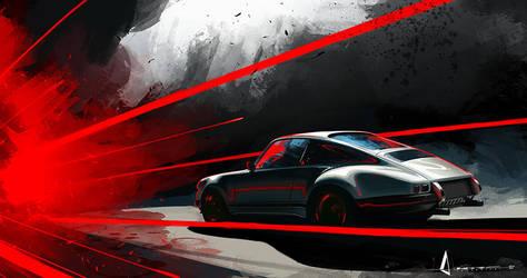 Porsche ARTspeed by theARTofGOTHIC