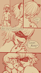 Miraculous LadyBug Comics-LB's First Nosebleed pg3 by redEIV