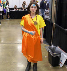 Airbender Cosplay FTW by ravinniaofcreed