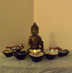 My Shrine :3 by ravinniaofcreed