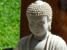 Backyard Buddha by ravinniaofcreed