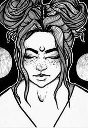 Moonchild by Casdesespere