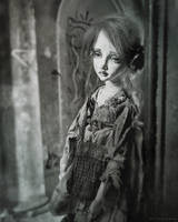 About a little girl by ElinasArt