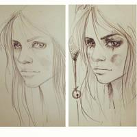 Pencil by ElinasArt