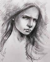 Sketching  by ElinasArt