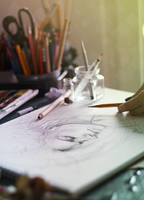 Art is life  by ElinasArt