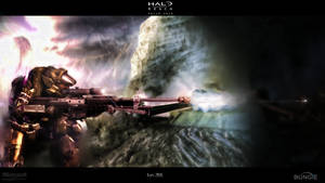 Halo reach Wallpaper by Ryadooo