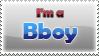 B-boy Stamp by Ryadooo
