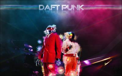 Daft Punk, THE wallpaper by Ryadooo