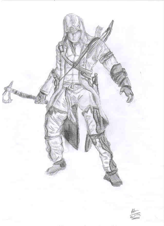 Assassin's Creed - Connor by Levy2001