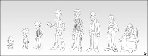 Character evolution by GuillermoRamirez