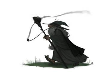 Gandalf by GuillermoRamirez
